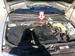 audi a4 vin audi a4 1999 2001 where is vin number find chassis number
