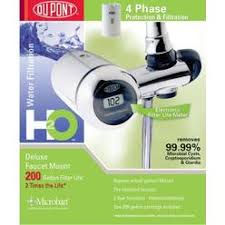 Faucet Mount Filter Dupont Low Profile Faucet Mount Drinking Water Filter