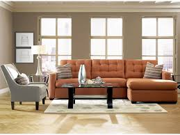 Klaussner Walker Sofa Klaussner Lido Contemporary Sectional Sofa With Right Facing