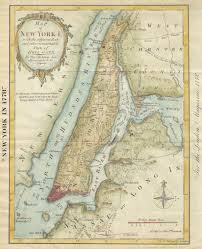 New York City Map Of Manhattan by New York Map Society Home Page