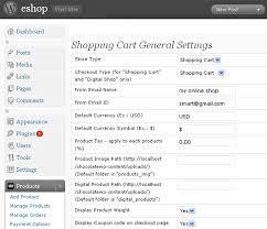 eshop online shop theme start an online shop with wordpress