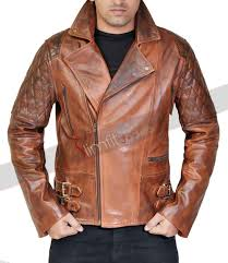 classic leather motorcycle jackets mens vintage cafe racer brown leather motorcycle jacket