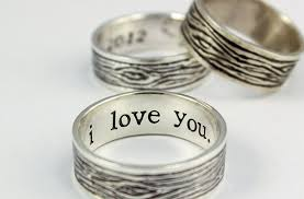 rustic mens wedding bands tree bark sterling silver rustic mens ring mens promise ring mens