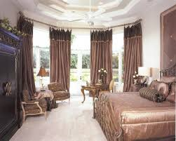Decorated Master Bedrooms by Designs Master Bedroom With French Doors Silver Wood And Mirrored
