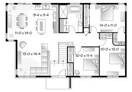 mid century modern home plans ideaforgestudios