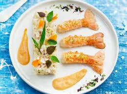 comment cuisiner les langoustines tartare de langoustines recettes femme actuelle