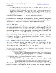 raymond atuguba on why we must eat the ghana constitution