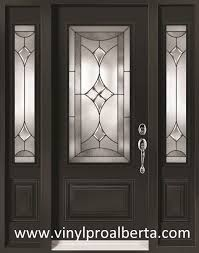 Steel Exterior Entry Doors Cheap Entry Doors With Side Lights Steel Entry Door With 2