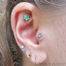 30 amazing tragus ear piercing examples