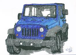 jeep drawing drunken samurai sketch blog my jeep