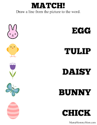 free easter activity printables craft u0026 learn