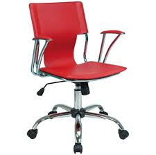 Office Chairs Without Wheels Price Furniture Stylish Red Rolling Home Office Chair Design Best
