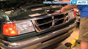 1997 ford ranger radiator how to install replace radiator grille ford ranger 93 97 1aauto