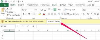 how to enable macros in excel step by step guide for 3 scenarios