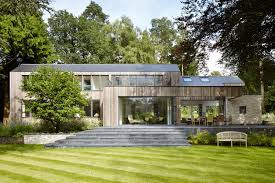 bungalow architecture fairy tale old bungalow converted contemporary house woods alma