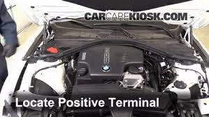 how to charge a bmw car battery how to jumpstart a 2012 2016 bmw 320i 2014 bmw 320i 2 0l 4 cyl