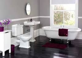 Bathroom Modern Bathroom Design With Cozy Clawfoot Tub Shower And - Clawfoot tub bathroom designs