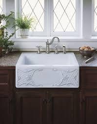 Kohler Apron Front Kitchen Sink Victoriaentrelassombrascom - Kitchen sinks apron front