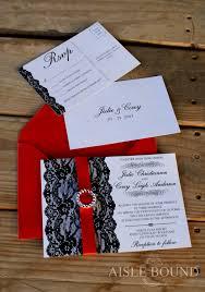 black and red wedding invitations cloveranddot com