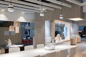 hanging light fixture led round living room taro trilux