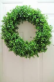 artificial boxwood wreath 18 inch faux boxwood wreath wreath
