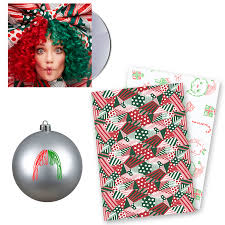 cd ornament wrapping paper sia official store