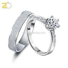cincin emas putih model cincin kawin emas putih dan palladium gd42065
