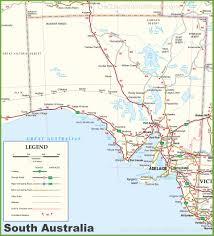 australia map of cities large detailed map of south australia with cities and towns