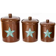 western kitchen canisters chocolate and turquise kitchen brown turquoise canister set