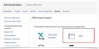 importing and exporting tests csv xray latest documentation