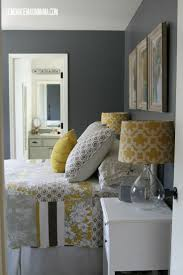 Yellow Feature Wall Bedroom Best 25 Charcoal Grey Bedrooms Ideas On Pinterest Pink Grey