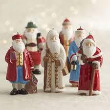 around the world santa ornament crate and barrel winter