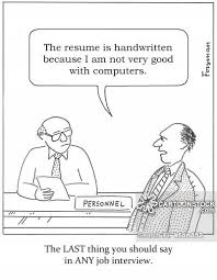 computer resume computer skills cartoons and comics funny pictures from cartoonstock