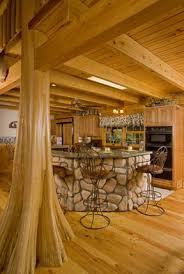 log homes interior designs stunning cypress tree interior