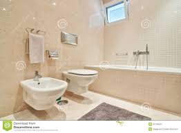 Modern Toilet by Modern Toilet With Ceramic Tiles And Bathroom Stock Photo Image