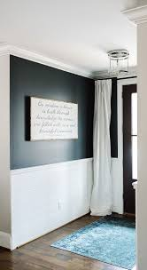 White Curtains With Blue Trim Decorating White Bedroom Ideas With Colour Painting Trim Darker Than Walls