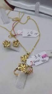 rositas earrings for sale 18k saudi gold jewelry set earrings ring
