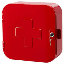 lockable first aid cabinet mf cabinets
