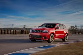 jeep hawk track 2018 jeep grand cherokee trackhawk most powerful suv ever