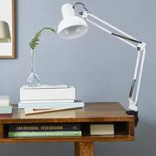 Desk Light Clamp Adjustable Drafting Lamp Clamp