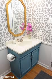 small bathroom wallpaper ideas best 25 small bathroom wallpaper ideas on half regarding
