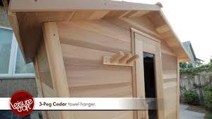 dundalk eagles nest outdoor cedar sauna youtube