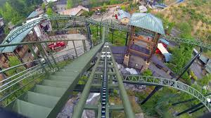 Dollywood Map Firechaser Express Roller Coaster Multi Angle Pov Dollywood