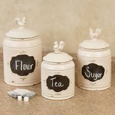 ceramic kitchen canister sets white ceramic kitchen canisters elegant bianca 3 piece scroll