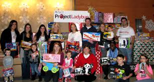 ladybug love for the holidays delivers over 1 200 toys ay mama