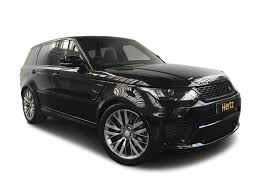 range rover svr black range rover car rentals hertz dream collection