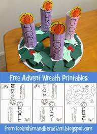kids u0027 advent wreath free printables radiant