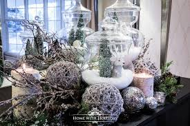 christmas decorating home using apothecary jars for christmas decorating home with holliday