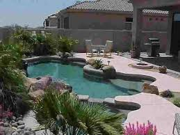 Swimming Pool Backyard Designs by 51 Best A Desert Landscaping For Pool Images On Pinterest Pool
