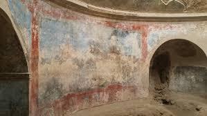 si e de mural mein besuch in pompeji mediterrane wandgestaltungen 2000 jahre alt